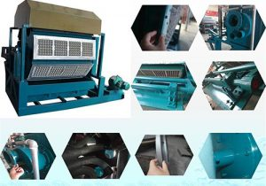 Details of making egg tray machine