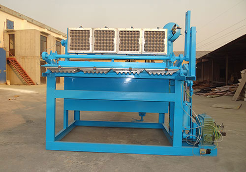 ZMDTF 4×1 egg tray machine