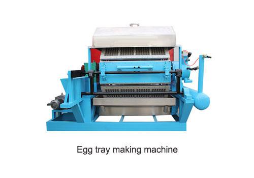 egg tray making machine of molding
