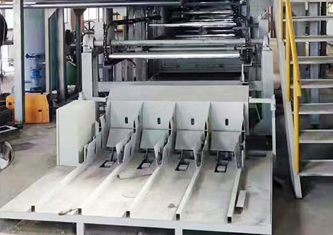 packing system for egg tray machine