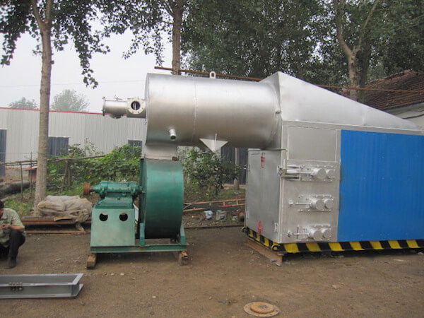 Burning chamber of multilayer dryer