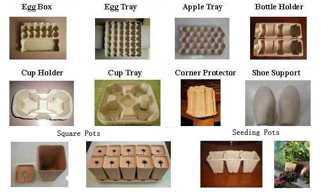paper pulp molding products