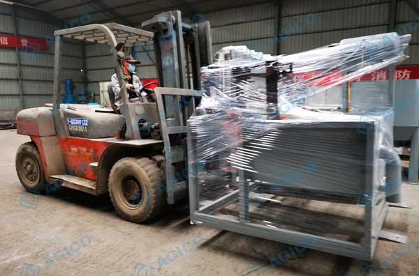 send pulping machine to Ethiopia