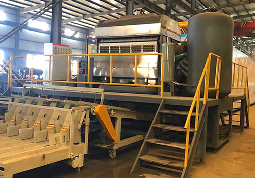 Automatic egg tray production line with 5000pcs/h