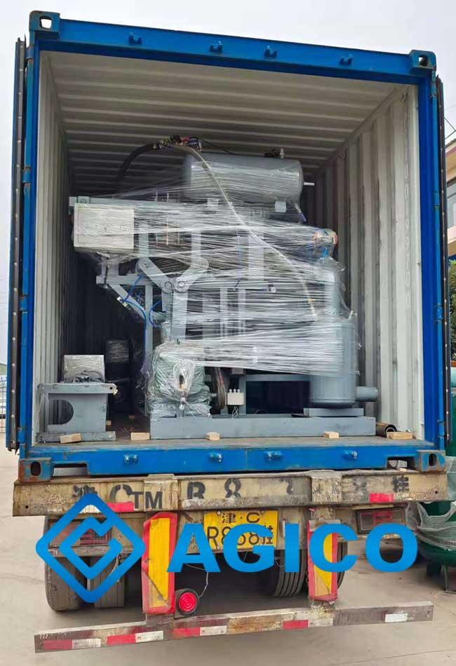 1500pcs/h egg tray production line